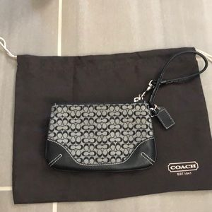 NWOT!!! COACH WRISTLET AND DUST BAG